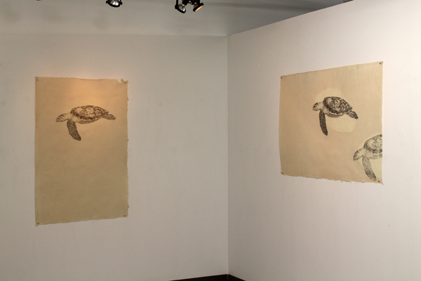 Exhibition view - The Animals Glow, Atelier Circulaire, Montreal, Canada
