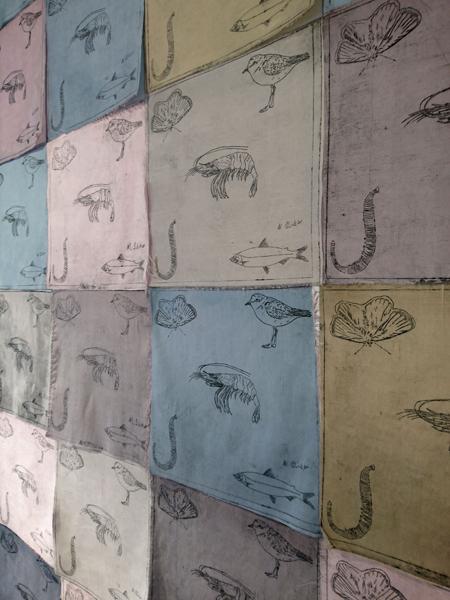 Wadden Sea Prayer flags close up