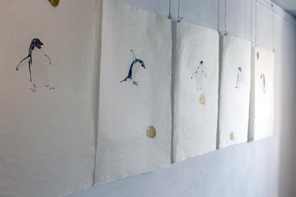 Exhibition view - Frozen Hawaii, Toldboden, Kerteminde, Denmark