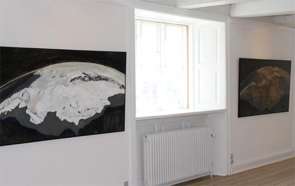 ntarctica Marie Byrd Land Ice Sheet/ Bedrock, installation view Toldboden, DK