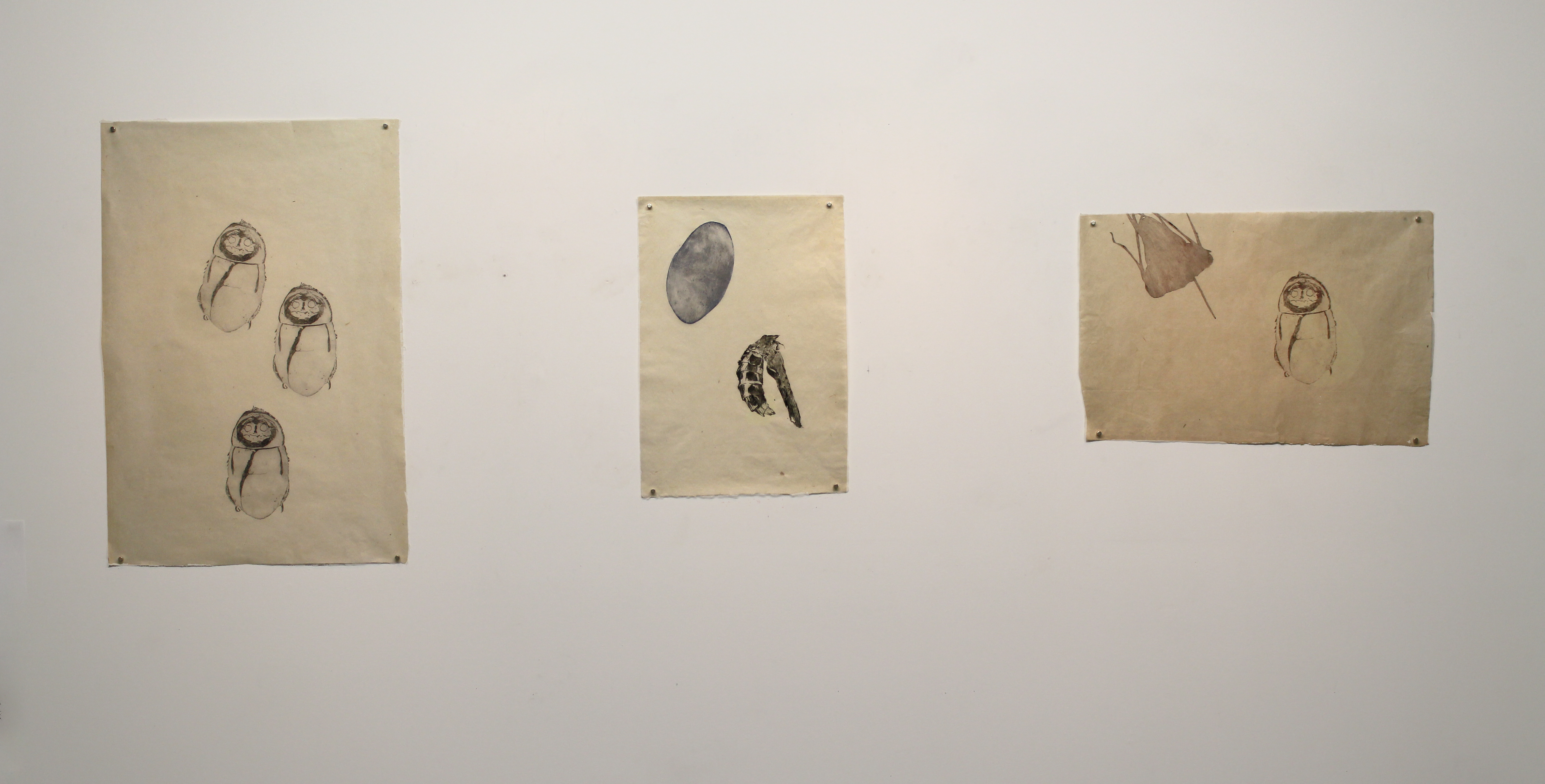 Installation view Atelier Circulaire, Montreal, CA