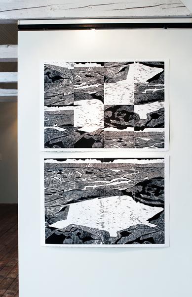 Installation view - Kulturloftet, Stevns, DK