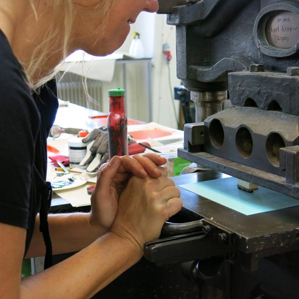Workshop, KKV Grafik, Malmö, SE