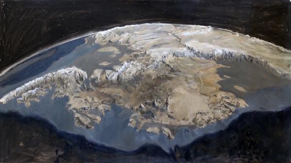 Antarctica Marie Byrd Land Bedrock