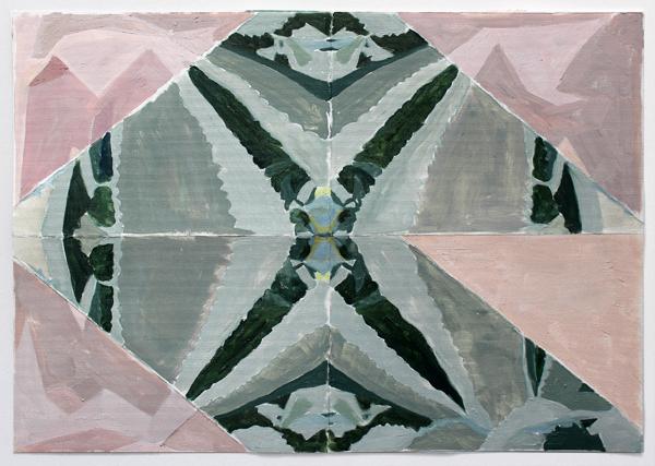 Agave Americana Plant Plié Geometry