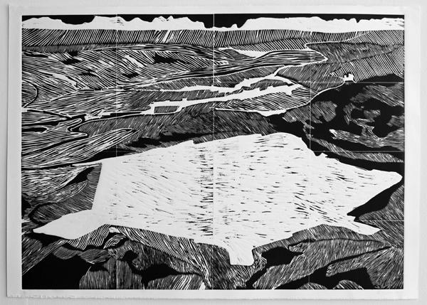 Atomic Landscape// Terrestrial Geometry I version 2 (Uranium disposal cell)