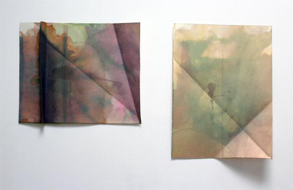 Folded Water Work II-III