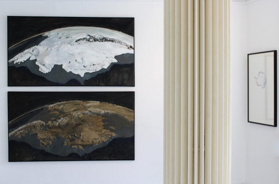 Antarctica Marie Byrd Land Ice Sheet/Bedrock