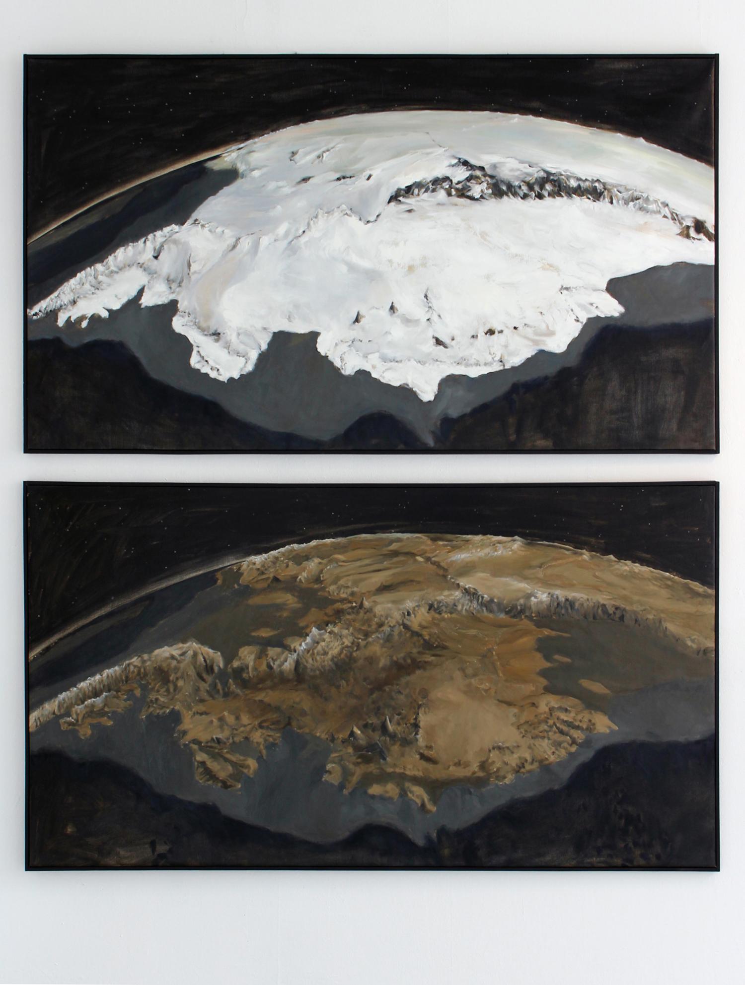 Antarctica Marie Byrd Land Icesheet/Bedrock