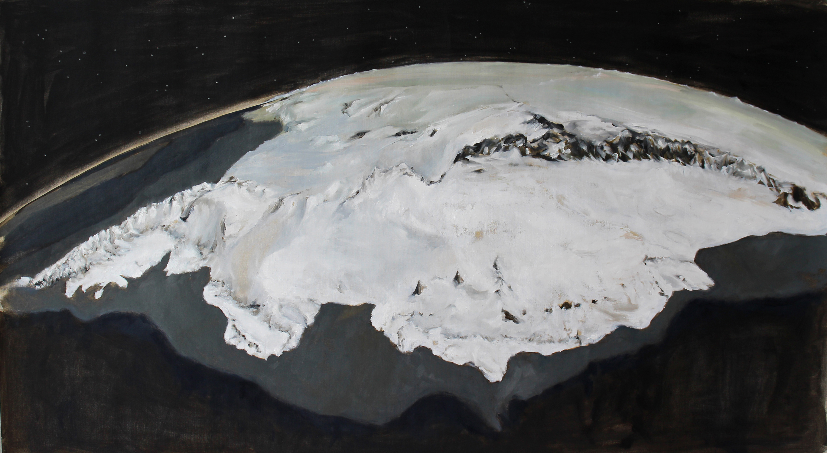 Antarctica Marie Byrd Land Ice sheet